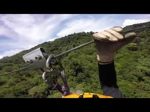 Zip Line  Canopy 100% aventura Costa Rica Monteverde