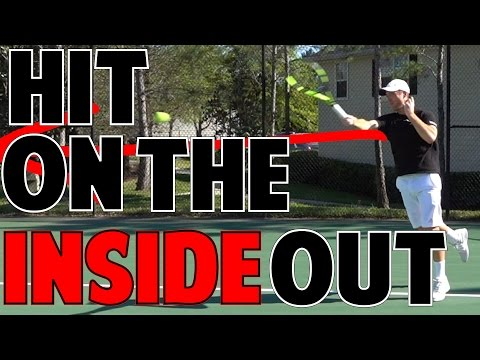HOW TO HIT AN INSIDE OUT FOREHAND