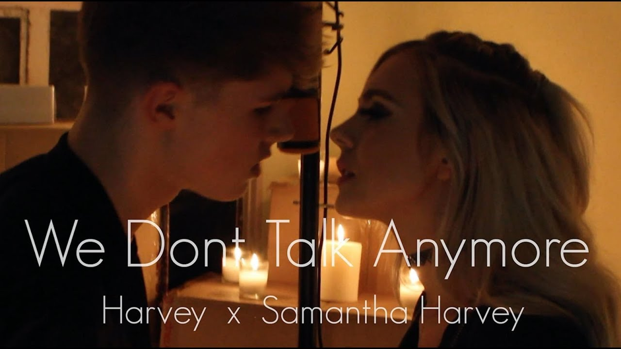 Charlie Puth We Dont Talk Anymore Feat Selena Gomez Samantha Harvey Hrvy Cover