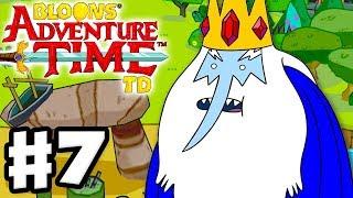 Bloons Adventure Time TD - Gameplay Walkthrough Part 7 - Wizard Battle!