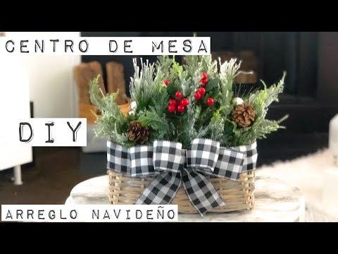 Diy Centro de Mesa /navidad 2018