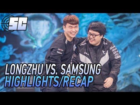 Worlds 2017 Quarterfinals 1 Highlights: Longzhu vs Samsung Galaxy | LoL eSports