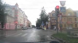 дорога от центра города Боровичи до участка в Сосновке