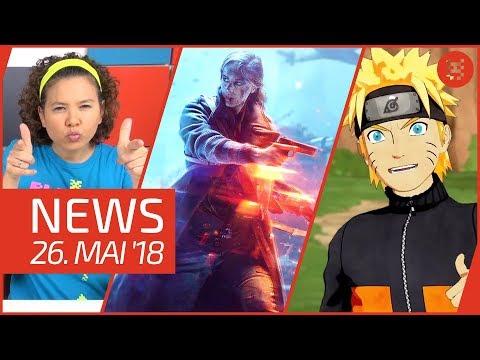 NEWS Battlefield 5 - Naruto to Boruto - Immortal Unchained - Nintendo Switch - 2DS XL