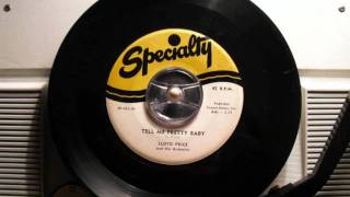 Lloyd Price and His Orchestra - Tell me pretty baby