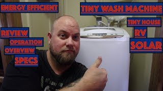 The BEST Tiny Laundry Washing Machine Energy Efficient Portable CHEAP from Home Depot