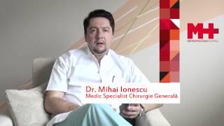 Dr. Mihai Ionescu despre Micsorarea Stomacului - Gastric Sleeve - la Metropolitan Hospital Romania