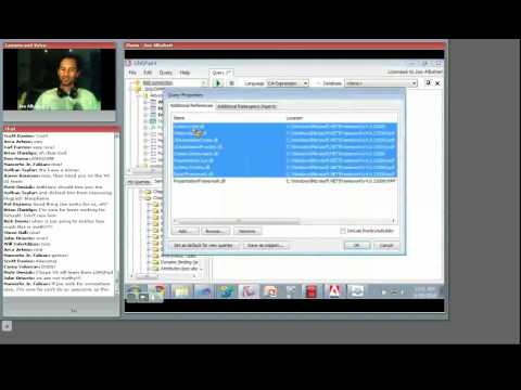 O'Reilly Webcast: LINQPad - Version  2 and Beyond