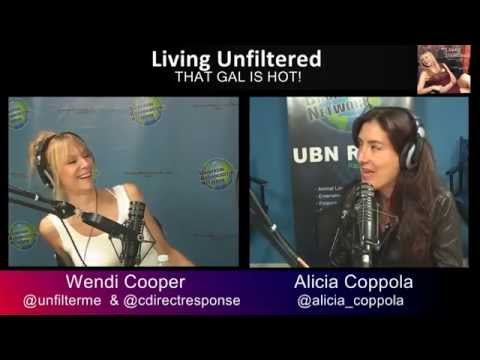 31715 Alicia Coppola is Unfiltered on Living Unfiltered with Wendi Cooper