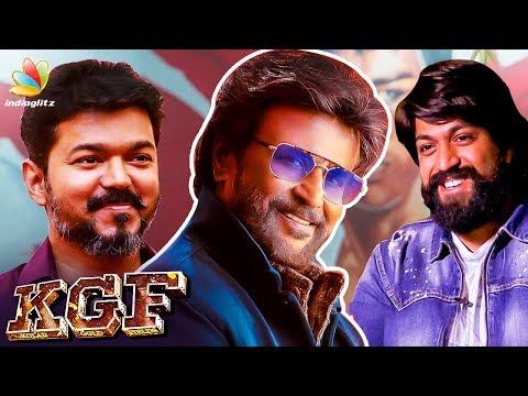 How I Learnt Tamil ? : KGF Yash Interview   Superstar Rajinikanth, Vijay