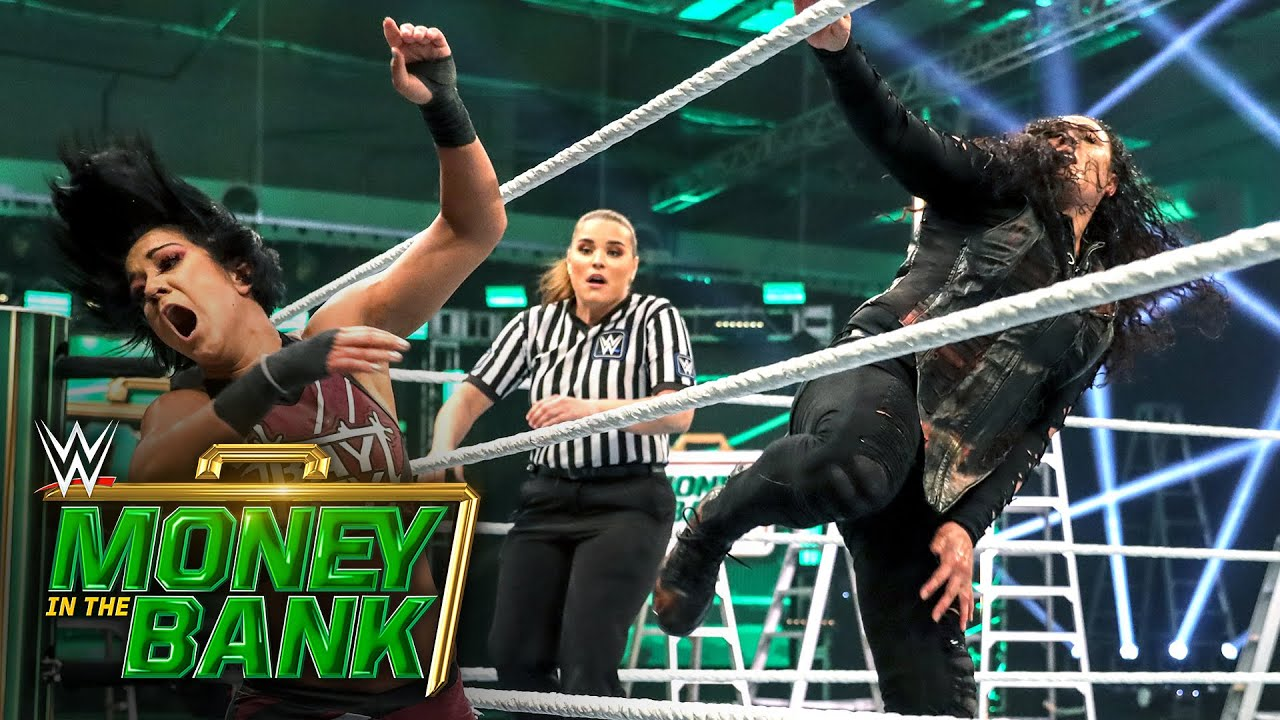 Bayley tries to counter Tamina's raw power: WWE Money in the Bank 2020 (WWE Network Exclusive)