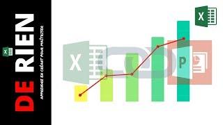 insérer un graphique excel dans powerpoint avec liaison