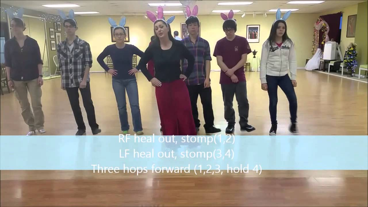Bunny Hop Dance How To Youtube