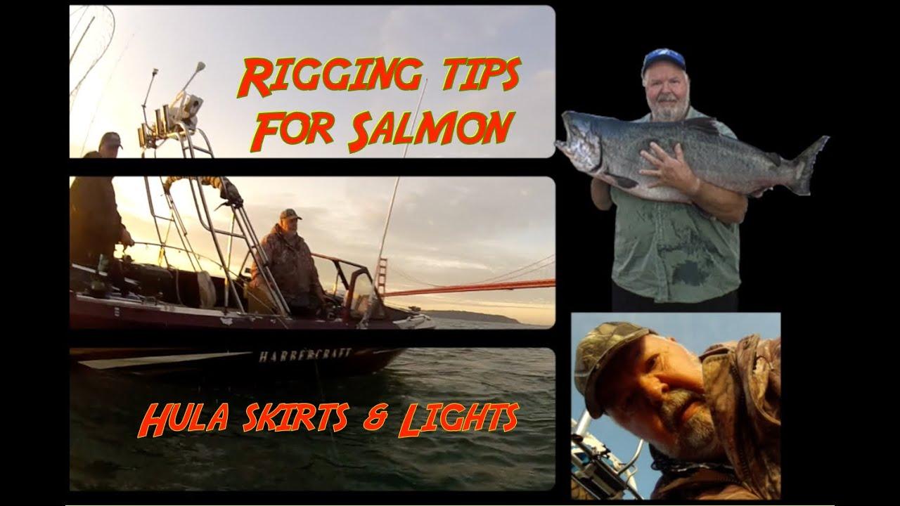 Ocean salmon trout steelhead sturgeon, stripers downrigger