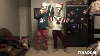 Mannequin Head Dance to All I Want For Christmas - BLOOPERS // TINADDIE