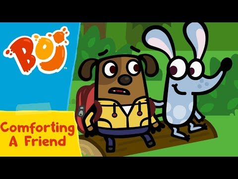 Boj - Comforting A Friend | Cartoons for Kids