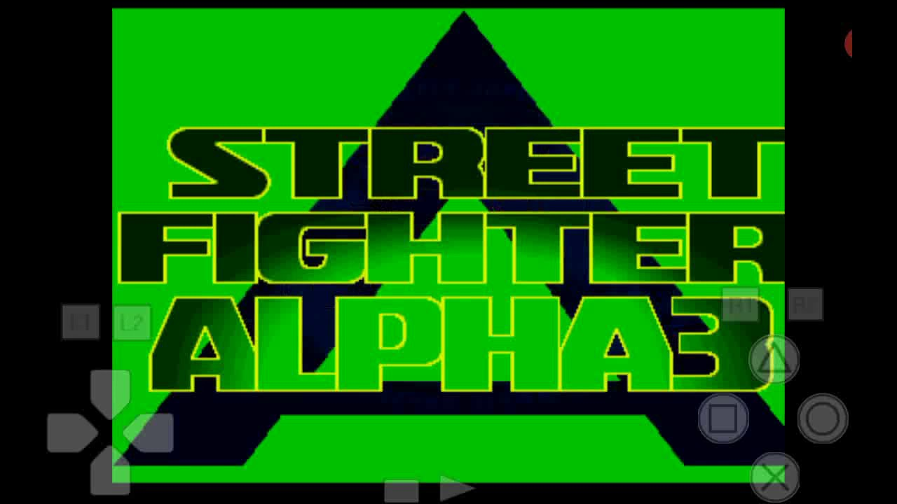 Ps1.Street fighter 3 alpha.