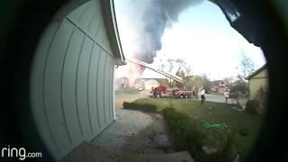 City Place apartment fire 3/21/2017 Overland Park, KS.