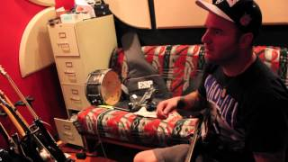 """Shai Hulud """"The Mean Spirits, Breathing"""" guitar tracking"""