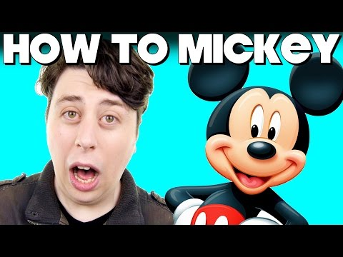 How To Speak Like Mickey Mouse!
