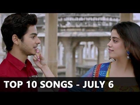 Top 10 Bollywood Songs Of The Week (Radio Mirchi Charts) - July 6, 2018