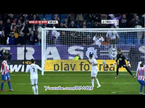 Real Madrid Vs Atletico Madrid Full Highlights + All Goals Week 10 Liga BBVA 2010-2011