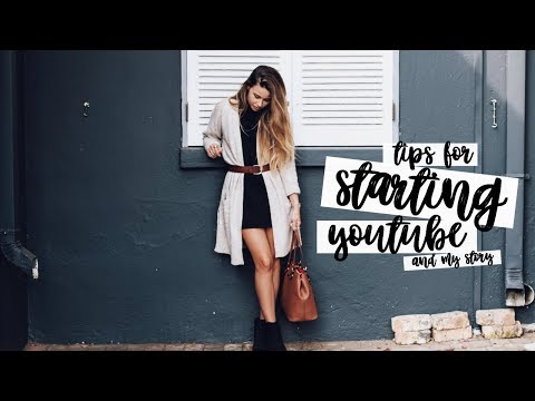 TIPS FOR STARTING YOUTUBE AND MY YOUTUBE STORY | CopperGardenx