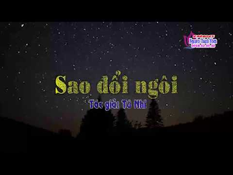 Kraoke SAO ĐỔI NGÔI - SONG CA