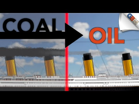 Converting Ocean Liners from Coal to Oil