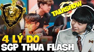 Mổ Băng Trận Thua 0-4 Của SGP Trước Team Flash - Quá Nhiều Lý Do...