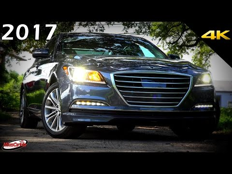 2017 Genesis G80 Ultimate In Depth Look in 4K