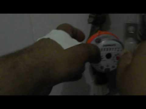 как остановить любой счетчик воды без магнита
