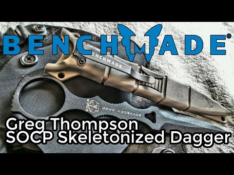 Benchmade SOCP Dagger Review (HD)