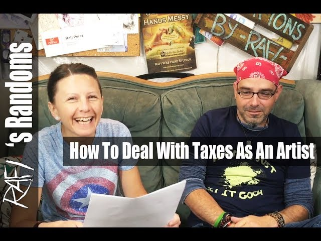 How To Deal With Taxes As An Artist
