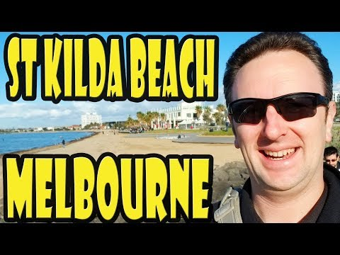 St Kilda Beach in Melbourne Australia