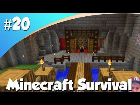 BINNENHOF MOOI MAKEN! (Minecraft #20)