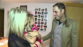 Esme's family meet her lifesaving donor