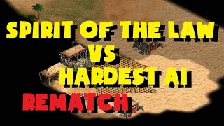 Spirit of the Law vs Hardest AI (Rematch)