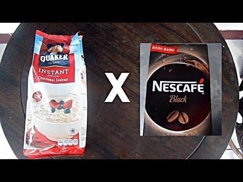 26 Oatmeal X Nescafe Black Rasa Baru Youtube