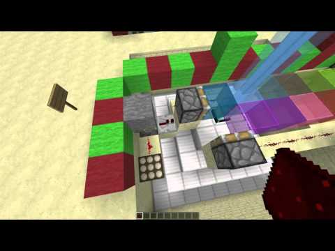 how to make a color changing sheep in minecraft