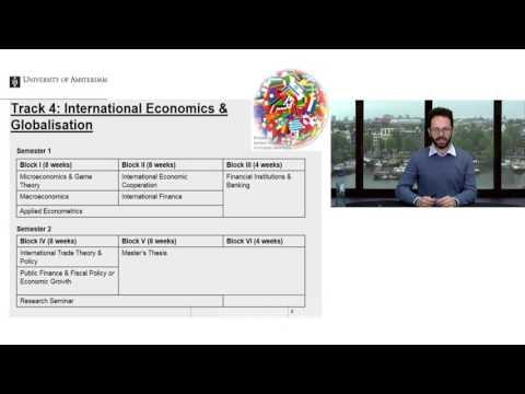 Webinar MSc Economics - 2017