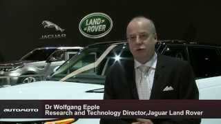 Dr Wolfgang Epple, Research and Technology Director, Jaguar Land Rover | AutoMotoTV