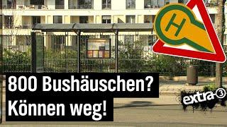Realer Irrsinn: Bushäuschenabriss in Dresden