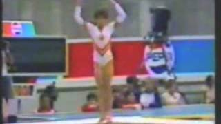 Mirela Sidon  - 1986 Goodwill Games Event Finals - Floor Exercise