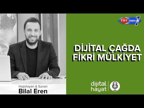 28.09.2018 | Dijital Hayat Bölüm190 - TRT RADYO1 I Dijital Çağda Fikri Mülkiyet