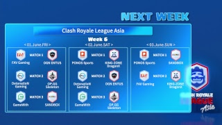 Clash Royale League Asia - Week 5 Day 3