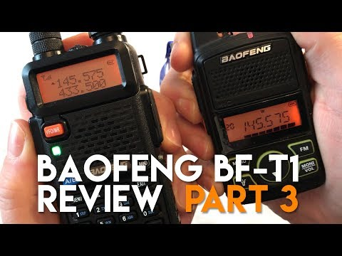 Baofeng T1 Review Part 3 - Is It Really Dual Band?