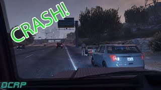 DISTRACTED DRIVER! (Criminal) OCRP # 119 | GTA V Roleplay!