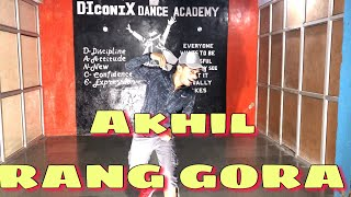 RANG GORA | AKHIL | DANCE CHOREOGRAPHY RA PATIL | latest Punjabi Song 2018