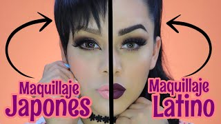 MAQUILLAJE  JAPONES VS MAQUILLAJE LATINO thumbnail